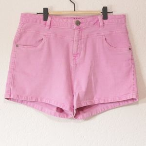 Cotton On Pink Denim Shorts